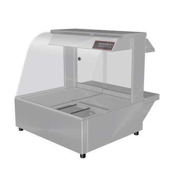 Woodson 2 Module Curved Hot Food Display