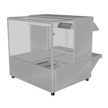 Woodson 2 Module Square Hot Food Display