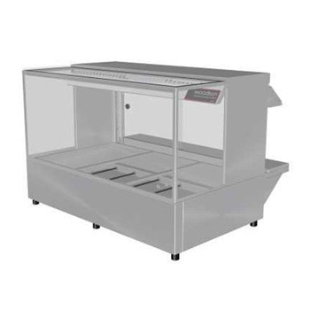 Woodson 3 Module Square Hot Food Display