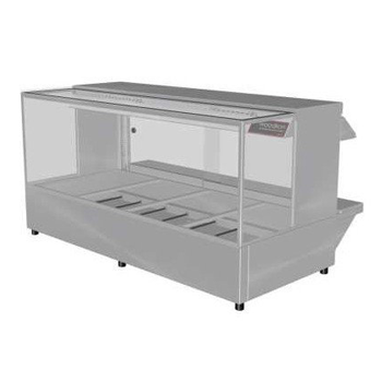 Woodson 4 Module Square Hot Food Display
