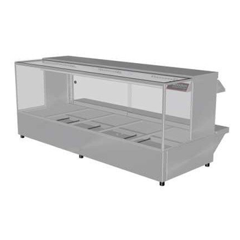 Woodson 5 Module Square Hot Food Display