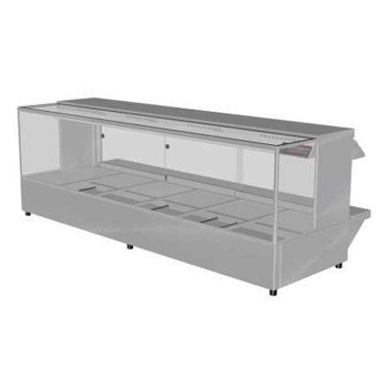 Woodson 6 Module Square Hot Food Display