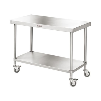 Simply Stainless Mobile Work Bench