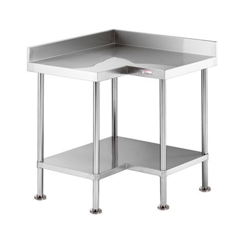 Simply Stainless Corner Bench With Splashback