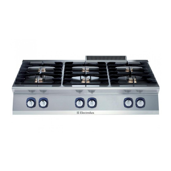 Electrolux 700XP 6 Burner Gas Cook Top Boiling Top
