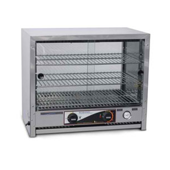 Roband 40 Capacity Square Top Pie and Food Warmers