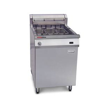 Austheat Single Pan Electric Fryers 3 Basket