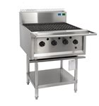 4 burner BBQ chargrill