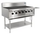 7 burner BBQ chargrill