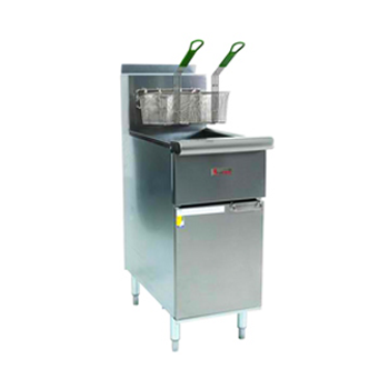 Trueheat CSR42G Gas Single Pot 20 Ltr Deep Fryer