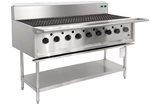 9 burner BBQ chargrill