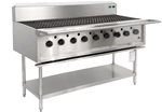 9 burner BBQ chargrill