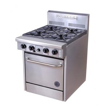 Goldstein PF-4-20 Gas 4 Burner Static Oven