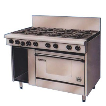 Goldstein PF-8-28 Gas 8 Burner Static Oven