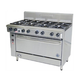Goldstein PF-8-28FF 8 Burner Ranges With Fan Forced Convection Ovens