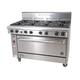 Goldstein PF-8-40 8 Burner Oven Range