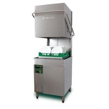 Eswood ES-50 Heavy Duty Pass Through Recirculating Dishwasher