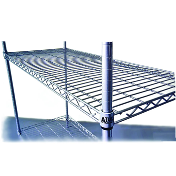 4 Shelf Wire Shelving Kits - 535 Deep (610mm)