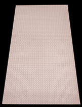 Techno 2' x 4' - Designer White - Carton of 10 Tiles - 80 SF - $16.08 EA