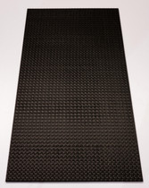 Techno 2' x 4' - Designer Black - Carton of 12 - 96 SF - $15.50 EA