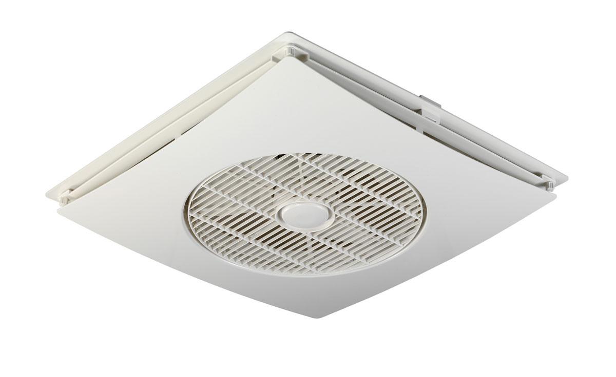 EcoFan 2 - Speed Ceiling Fan for Drop Ceilings (Wall Control Not ...