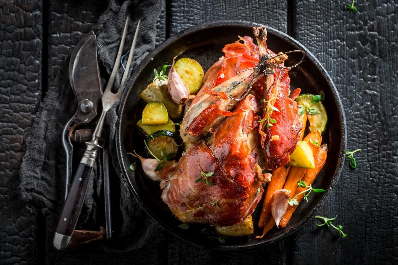 Pheasant Roast Dinner