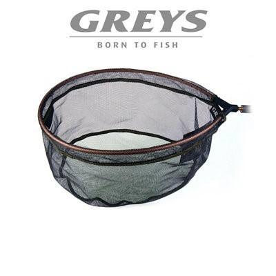 Greys Rubber Micro Mesh Pan Fishing Net