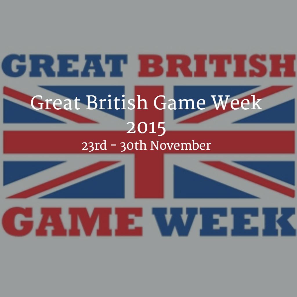 Great British Game Week 2015