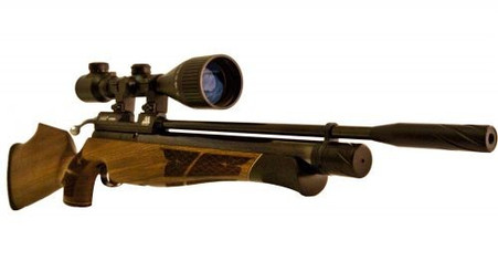 Keen's Tackle & Guns Stock The Air Arms S400 Walnut Air Rifle with single-shot precision and traditional bolt action.