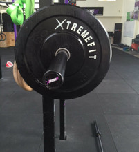 Olympic Bar and 100kg Bumper Package