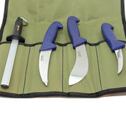 Sharp Knife Set in Canvas Roll
