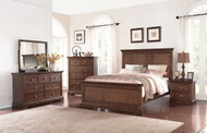 Tamarack Panel Bed