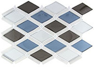 GT Glass Falling Star Glass and Aluminum Mix Cerulean Gaze