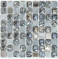 GT Glass Opulence 5/8 x 5/8 Starry Night OP07