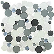 GT Glass Symphony Bubble Grey Fizz SBS-1512