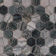 "MSI Henley 2"" Hexagon Marble Mosaic SMOT-HENLEY-2HEX"