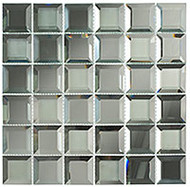 GT Glass Checkers Spanish Pearl CKR114