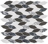 GT Glass Colonial Series Long Hex Presidential Grey CLNL280