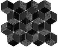 DBK MCI Mirage Glass Diamond Hex Black