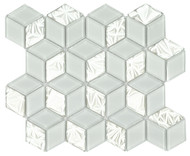 DBK MCI Mirage Glass Diamond Hex Super White