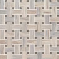 MSI Angora Basketweave Marble Mosaic SMOT-ANGORA-BWP10MM