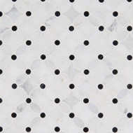 MSI Florita Pattern Marble Mosaic SMOT-FLORITA-POL10MM