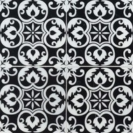 MSI Tetris Nero Florita Marble Mosaic TTETNERO66