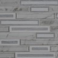 MSI Blocki Grigio Interlocking Mosaic SMOT-SGLSIL-BLOGRI8MM