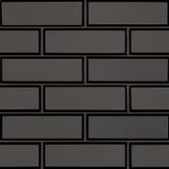MSI Metallic Gray  2 x 6 Bevel Subway Mosaic SMOT-GLSST-MEGRBE8MM