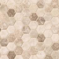 MSI Sandhills Hexagon Mosaic SMOT-GLS-SAND6MM