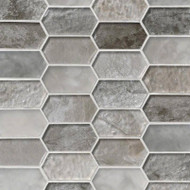 MSI Savoy Picket Pattern Mosaic SMOT-GLSPK-SAVOY8MM