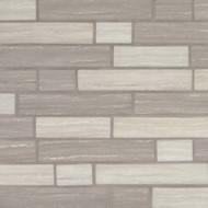 MSI Silva Oak Interlocking Mosaic SMOT-GLSIL-SILVA6MM