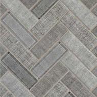 MSI Textalia Herringbone Mosaic SMOT-GLS-TEXHER6MM