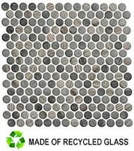 GT Glass Polka Dots  Umbel Grey PLK-62
